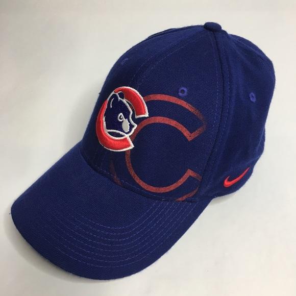 Nike Chicago Cubs Team OS Swoosh Flex Hat